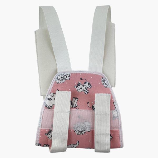 Paediatric Shoulder Lok Brace Pink Zebra